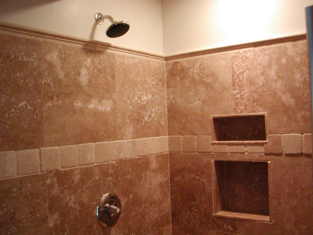 Shower Floor Tiles Which Why And How: 20 Stunning Pictures Of Travertine Bathroom Tile Ideas