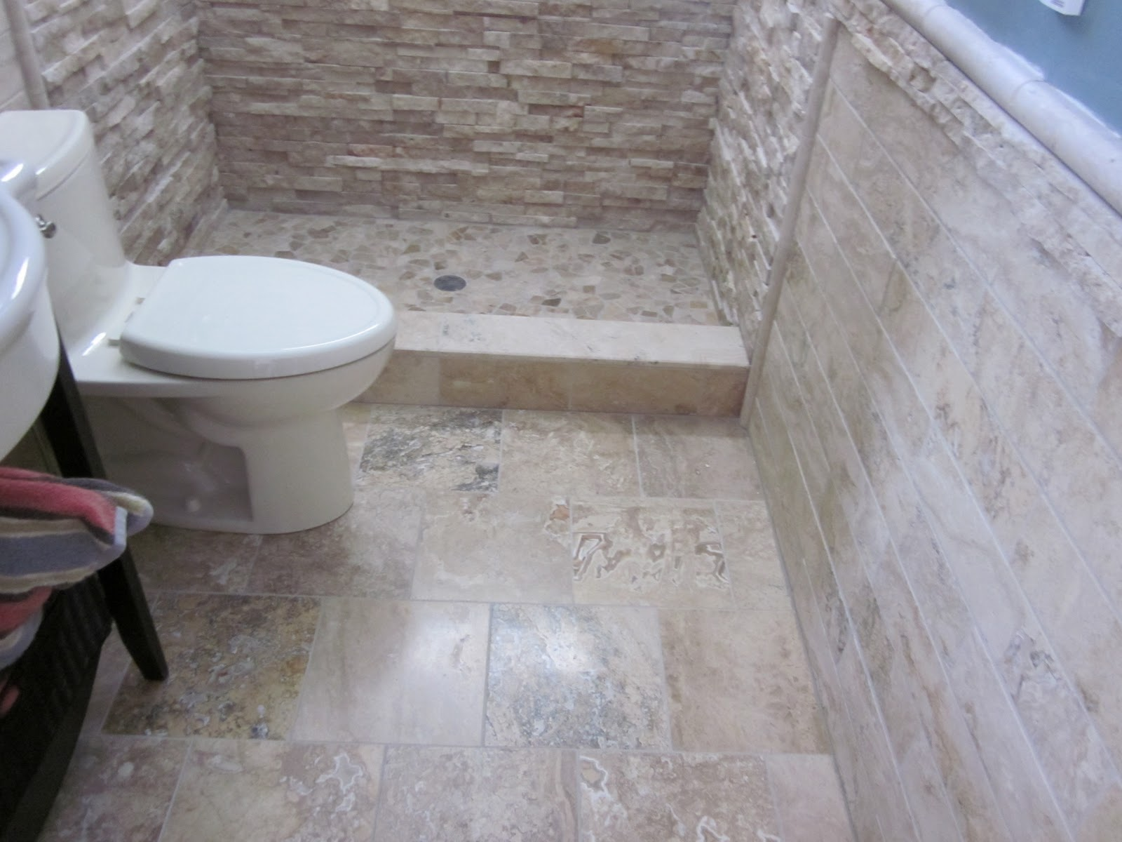bathrooms with travertine tile. view full size stunning bathroom