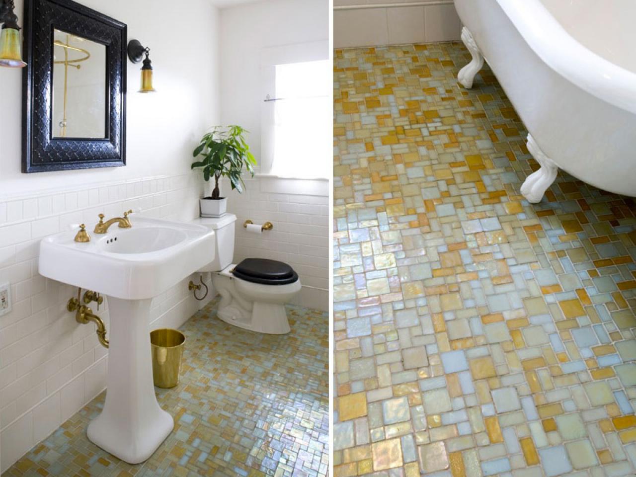 Tiled Bathroom Floors 30 Marble Bathroom Tile Ideas