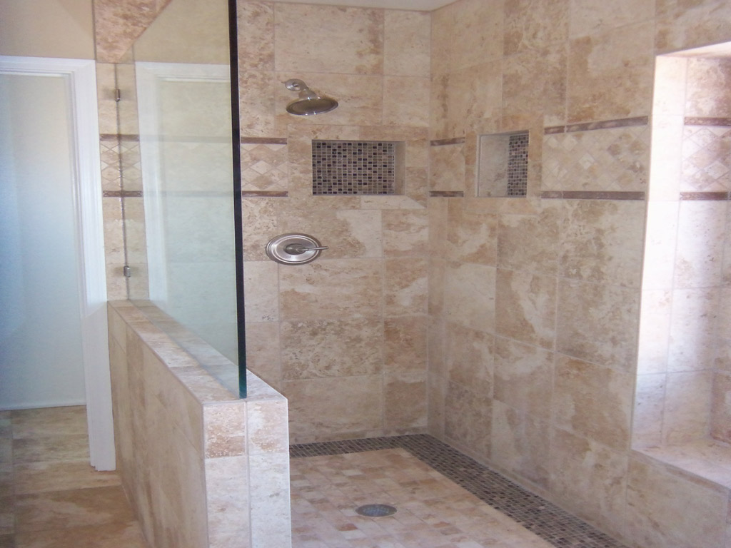26 amazing pictures of ceramic or porcelain tile for shower for Ceramic bathroom tile designs