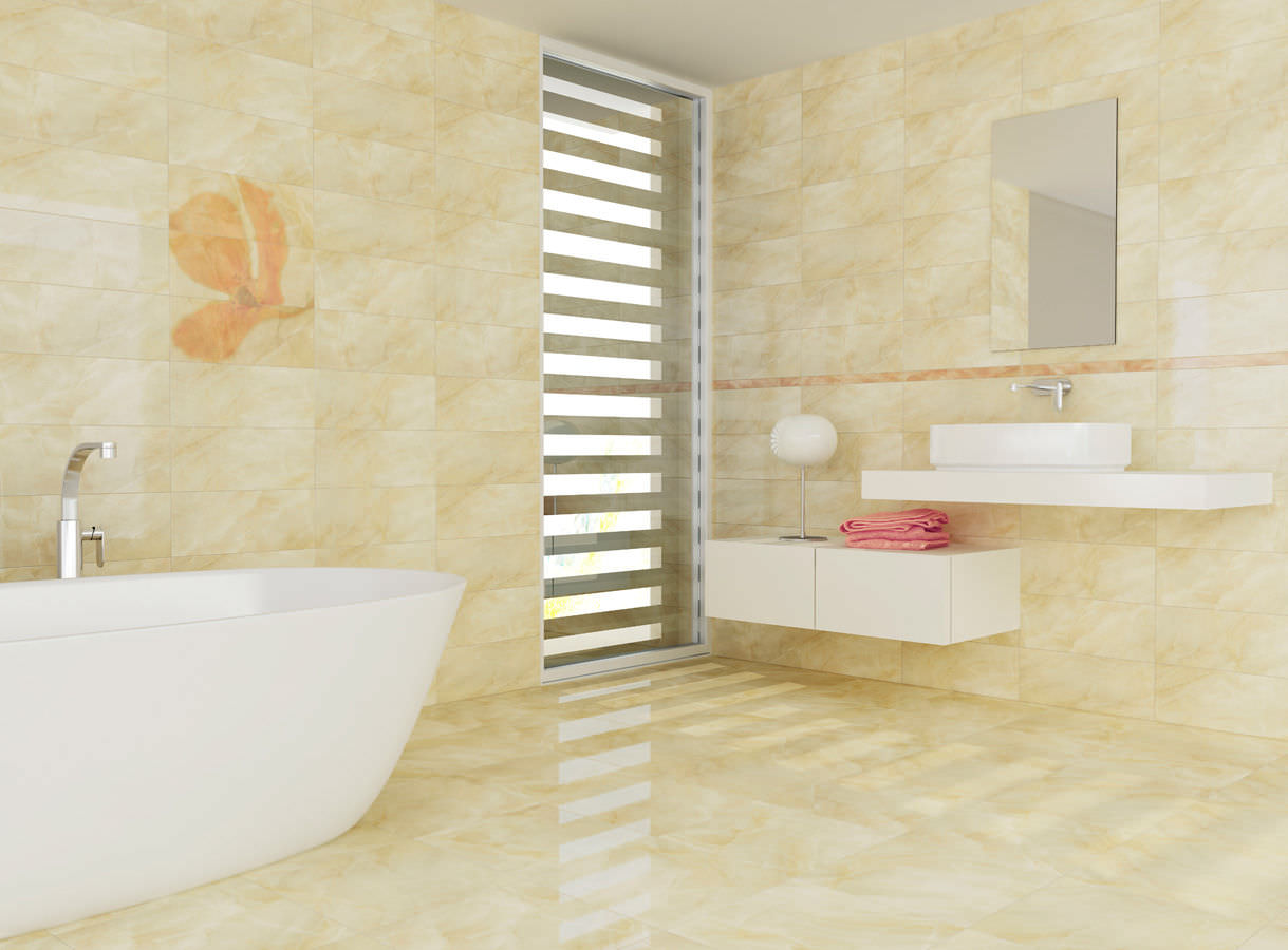 25 pictures of ceramic til for bathroom floors for Bathroom porcelain tile designs