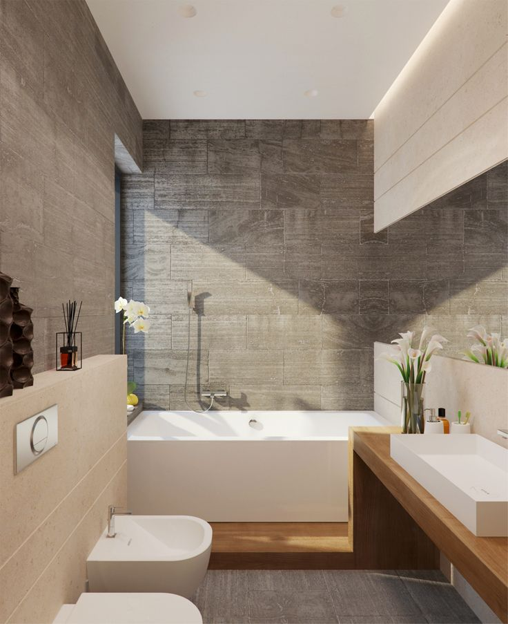 Elegant Architectural Stone  Bathroom Tile Designs Gallery