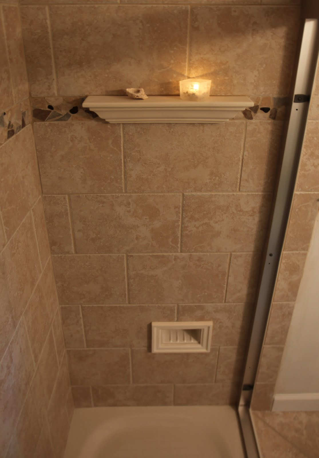 tile shower designs small bathroom 20 ideas of bathrooms with travertine tile pictures 24368