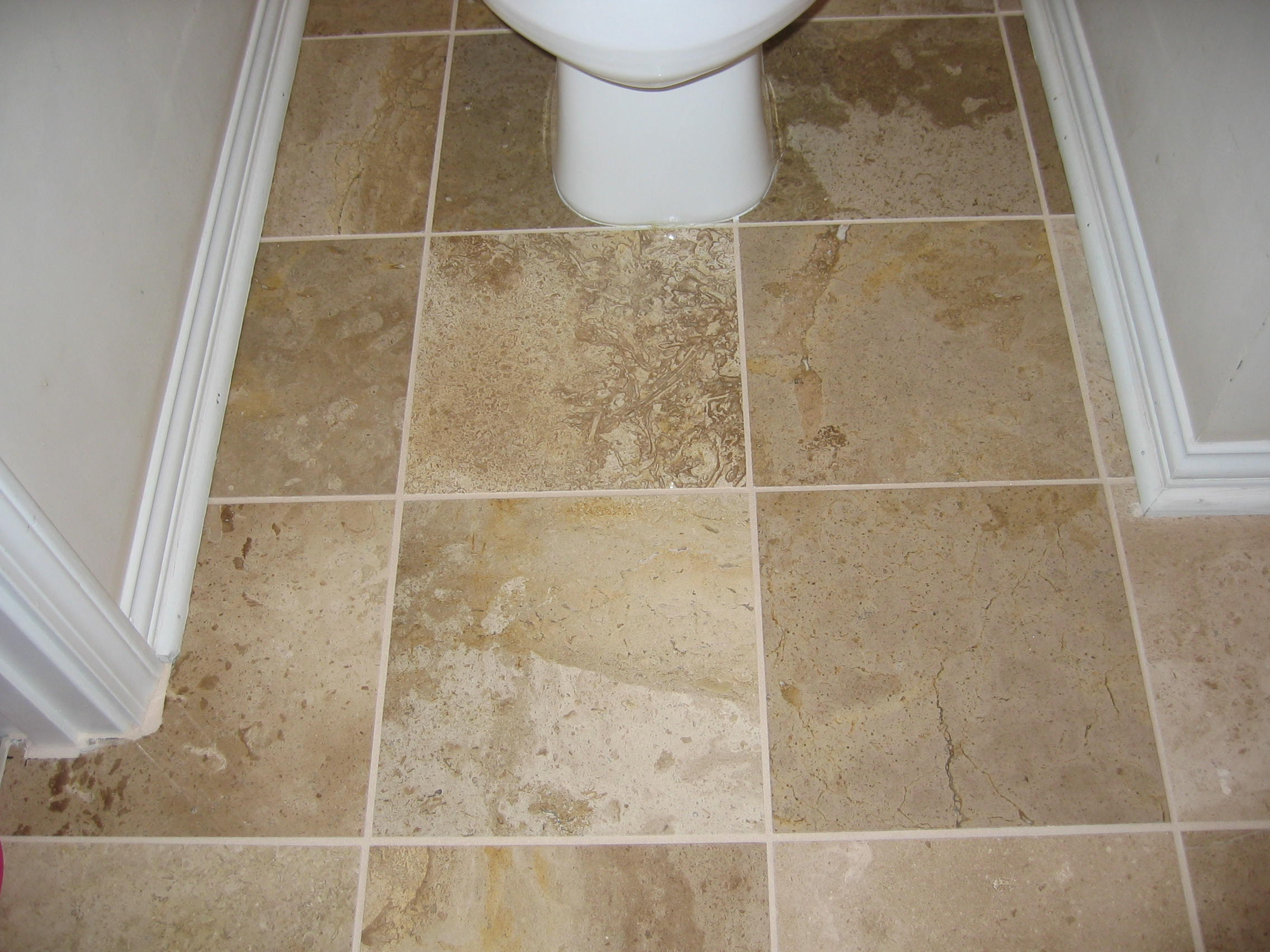 20 pictures about is travertine tile good for bathroom for Bathroom tile flooring designs