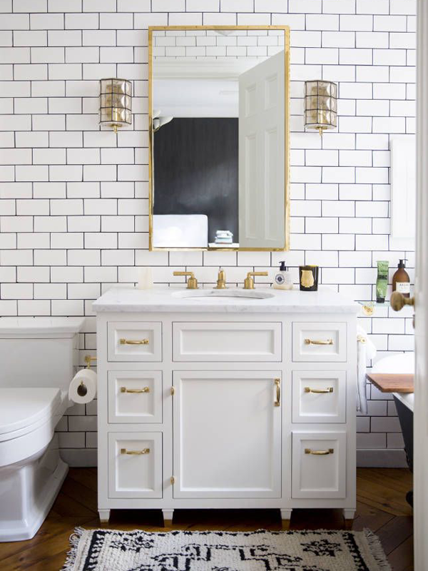 Pictures Of Subway Tile Patterns For Bathroom