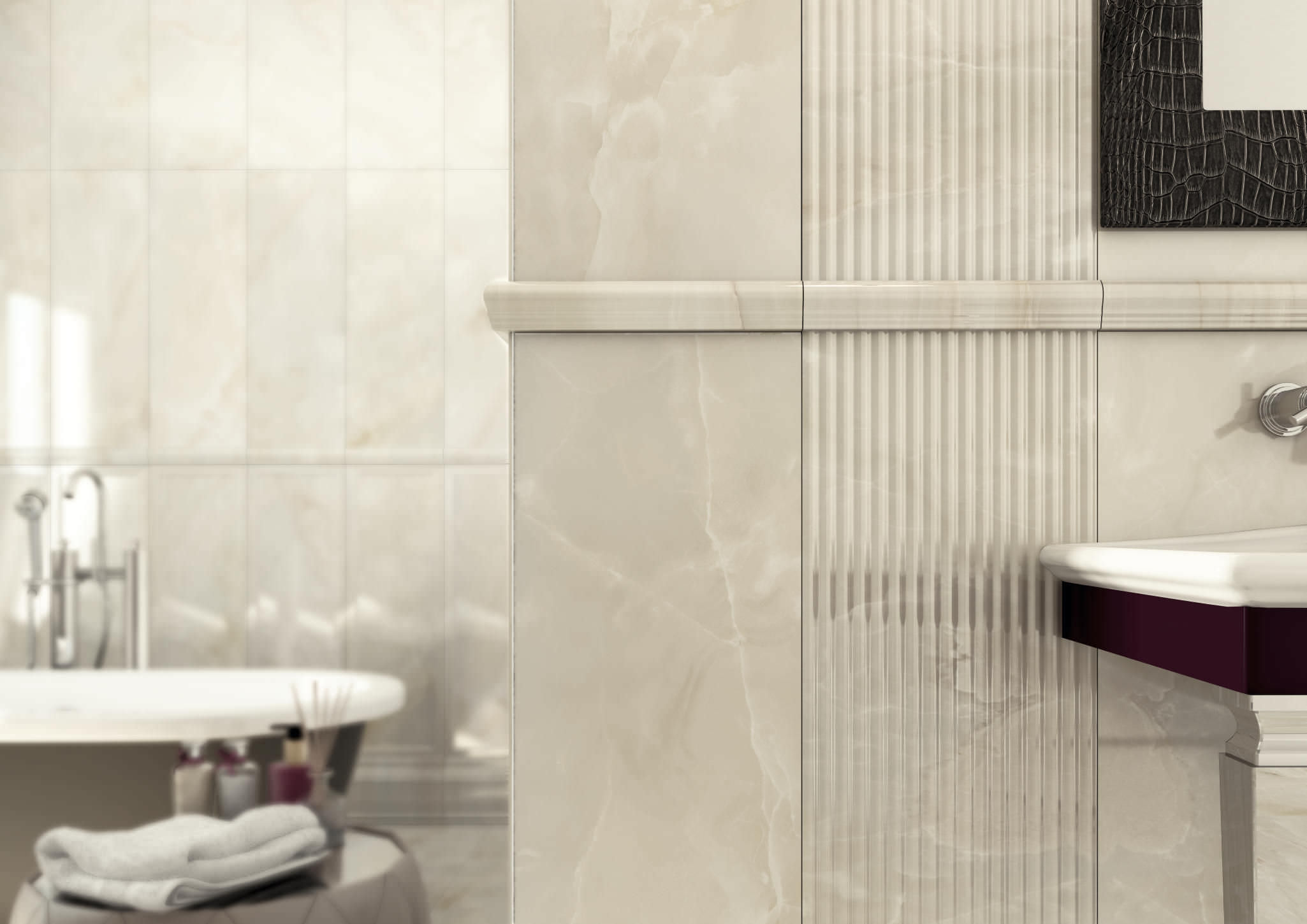 23 Stunning Ideas Of Clean Marble Bathroom Tiles 2019