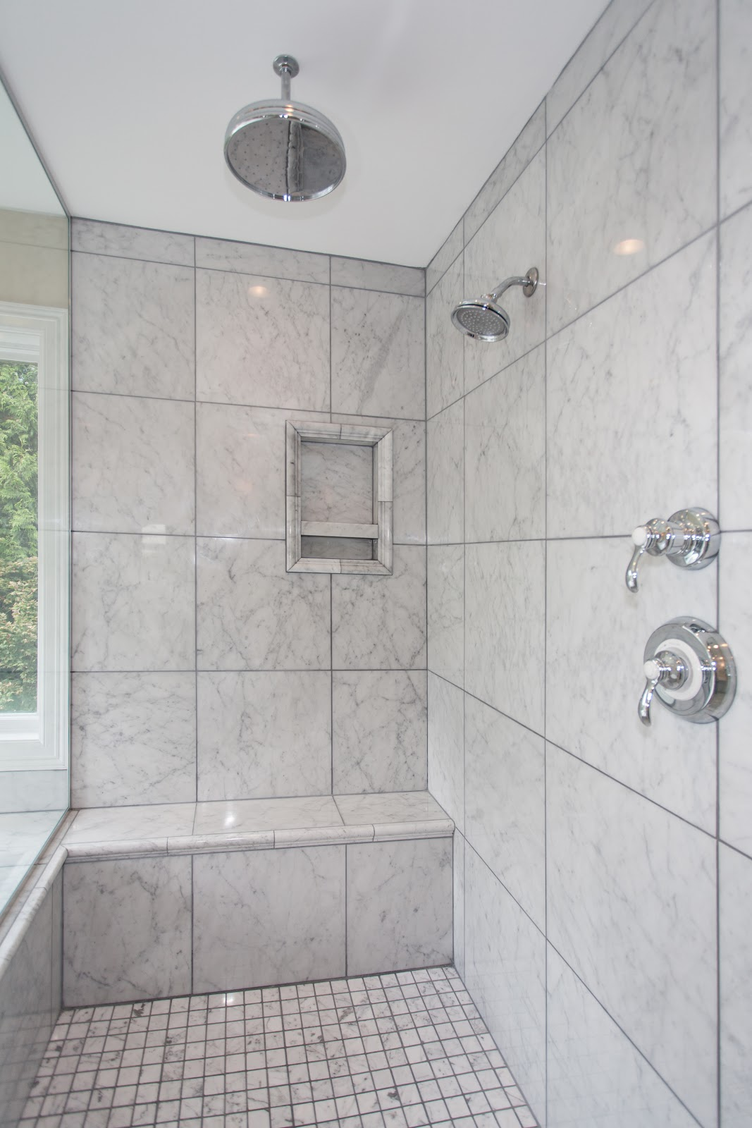 30 great pictures of marble shower tile How to tile a shower