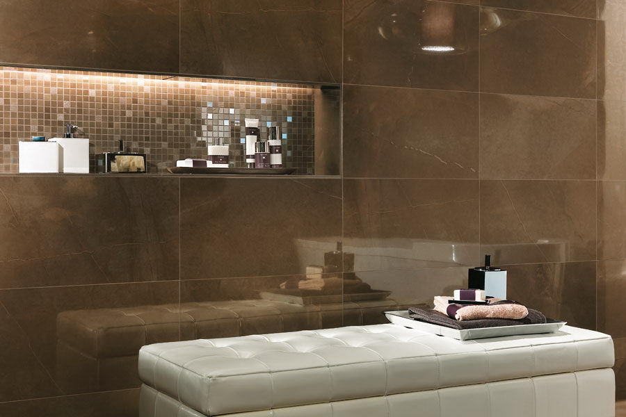 30 ideas for using porcelain tile for bathroom walls