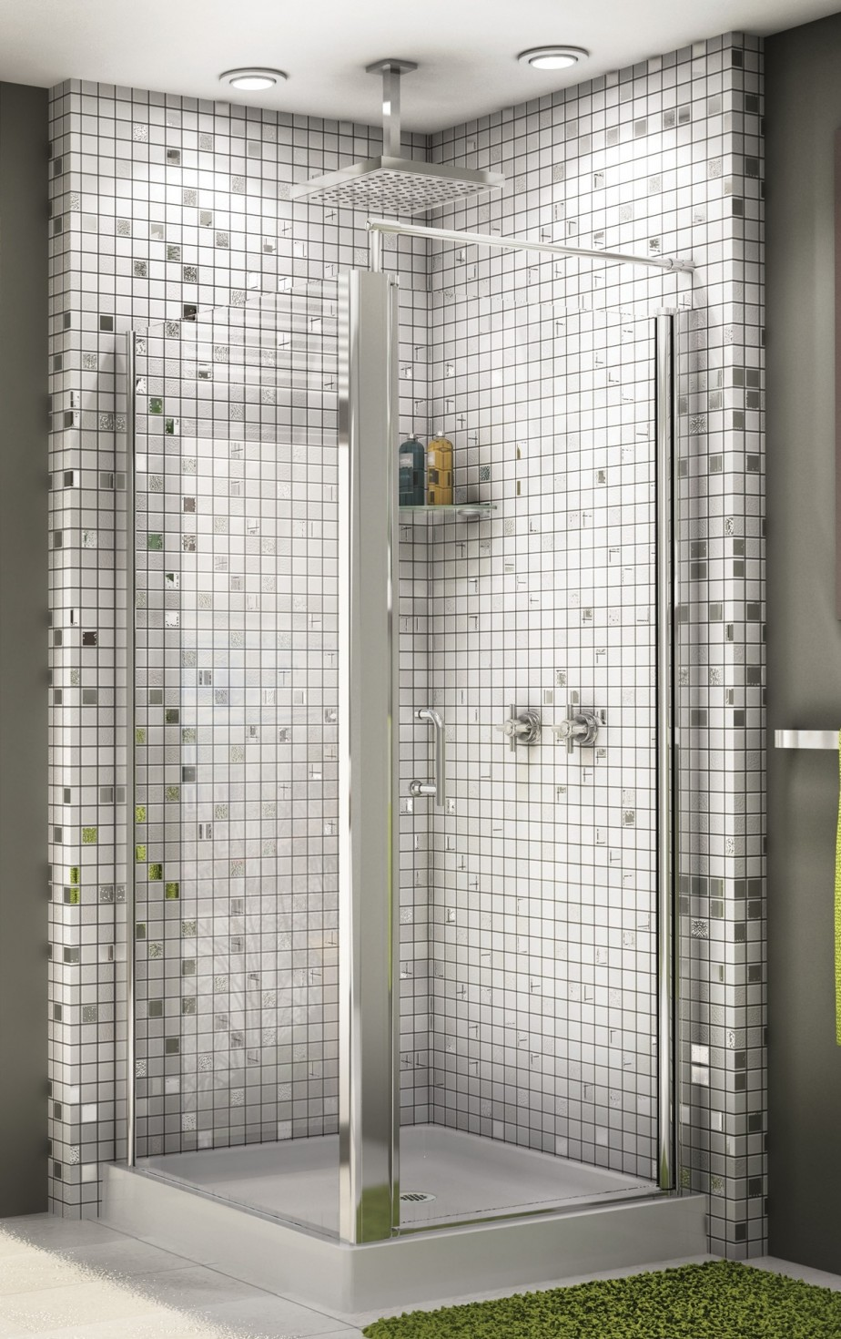 Glass Bathroom Tiles Ideas & Glass Bathroom Tiles Ideas. Subway Tile Bathroom Floor. 30 Great ... Pezcame.Com