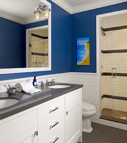 Bathroom Beadboard Ideas: 30 Ideas For Subway Tile Beadboard Bathroom