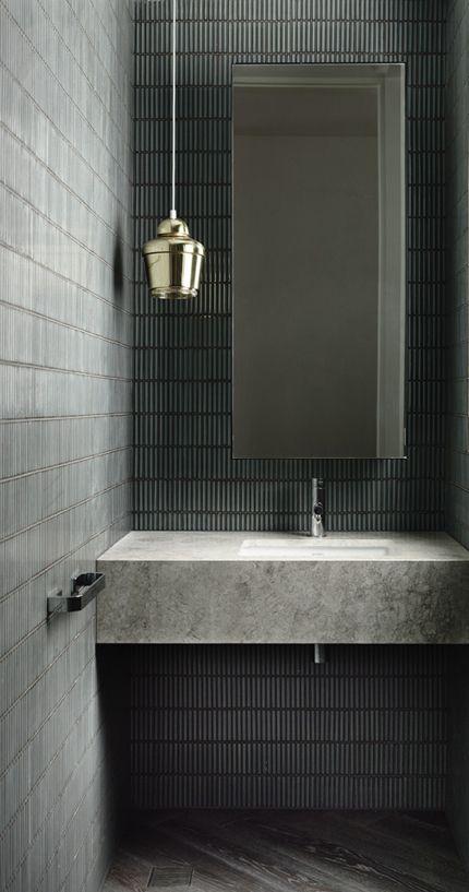 30 Dark Grey Bathroom Tiles Ideas And Pictures