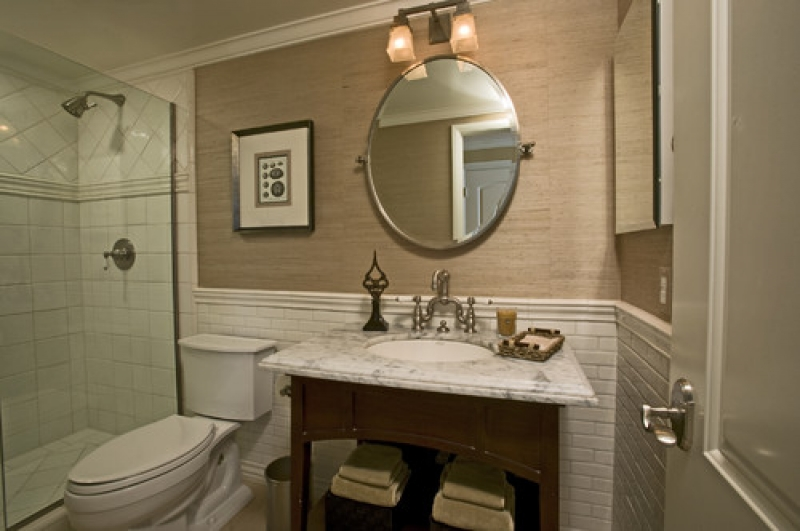 29 ideas for using wainscoting subway tile in a bathroom 2019 - Decorating walls with pictures ...
