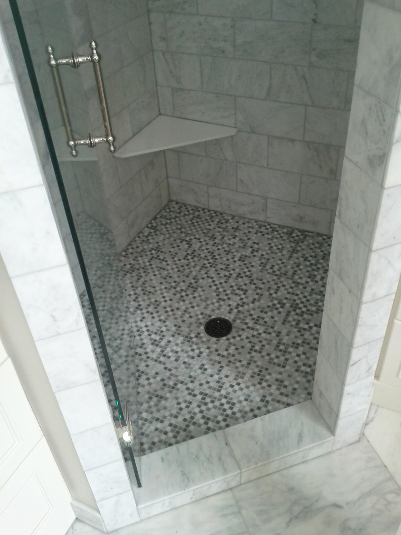 Cost To Tile Floor >> 31 great pictures of marble shower tile 2019