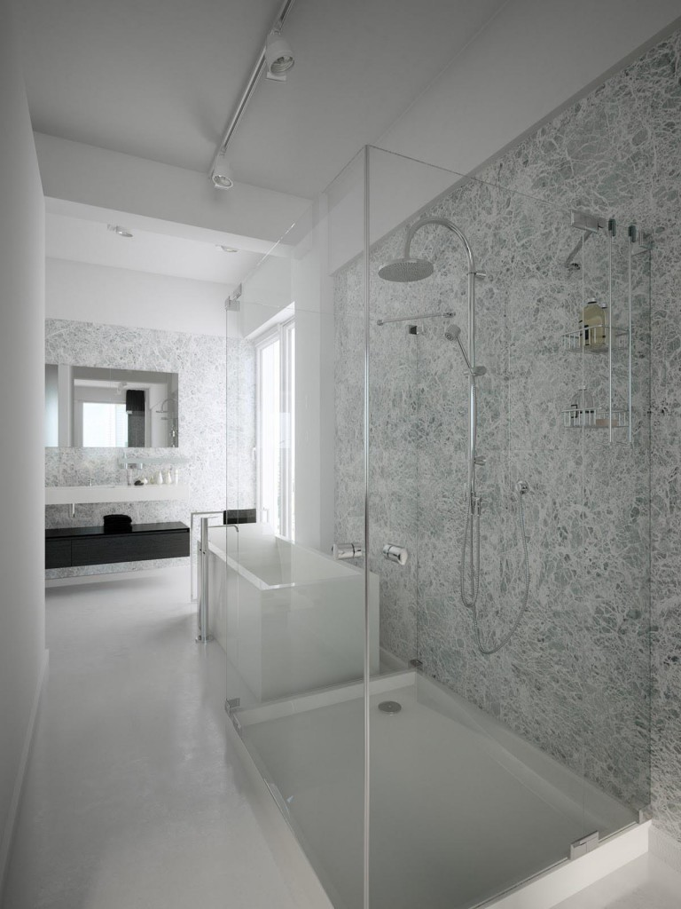 30 amazing ideas for marble tile for bathroom floors