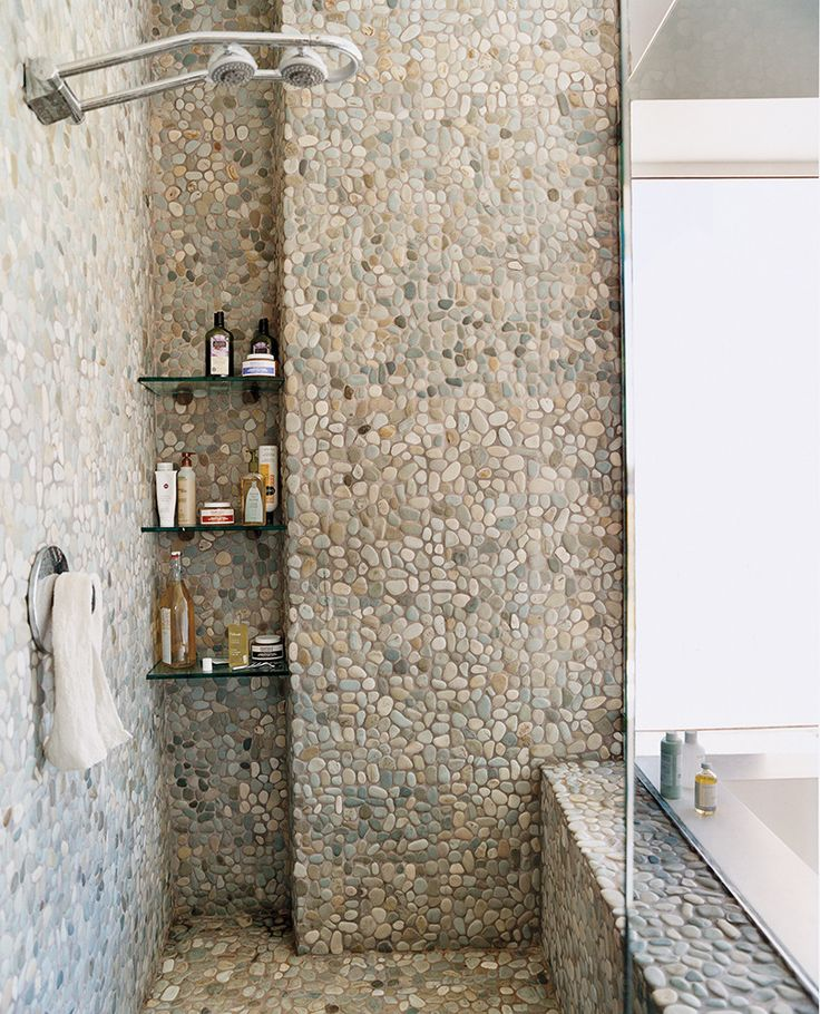 Bathroom Tile Ideas: 30 Grey Natural Stone Bathroom Tiles Ideas And Pictures