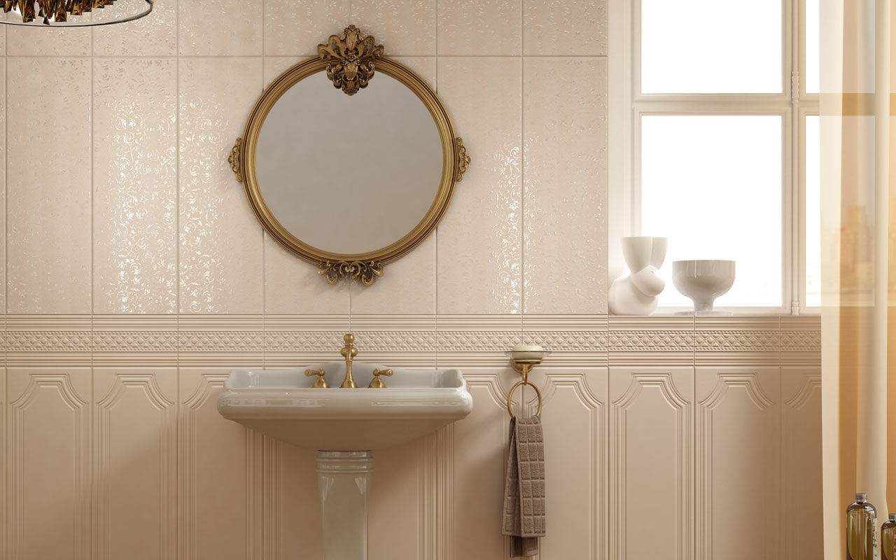 30 cool pictures of bathroom ceramic wall tile - Painting ceramic tile walls ...