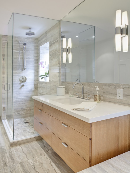 31 Modern Grey Bathroom Tiles Ideas And Pictures