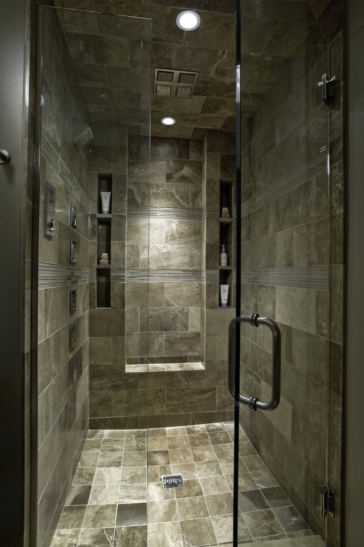 30 grey natural stone bathroom tiles ideas and pictures for Bathroom seen photos