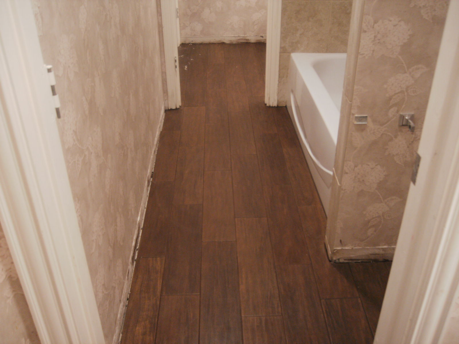 Timber Look Floor Tiles Bathroom Simple Blue Timber Look Floor