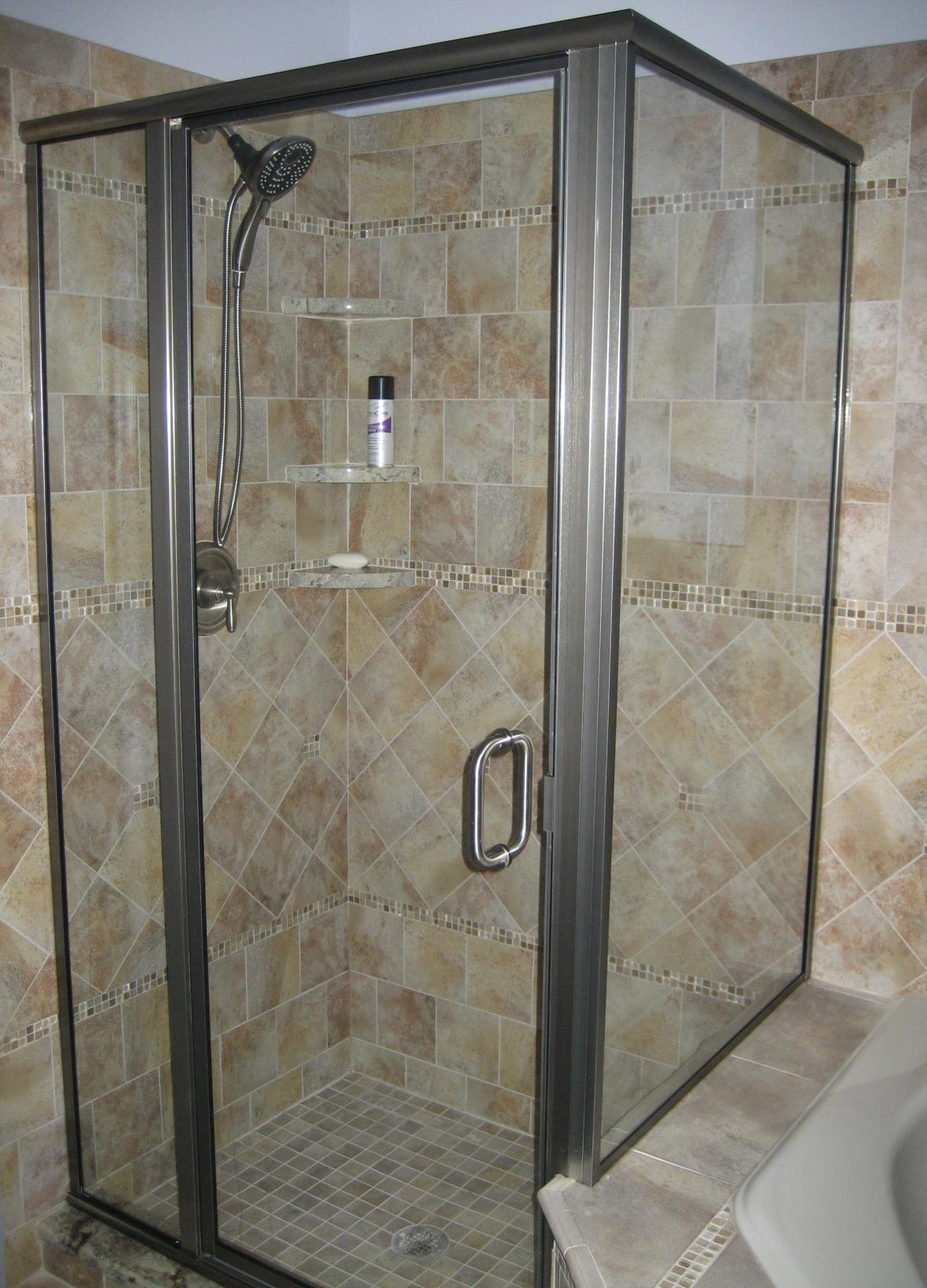 1 2 3 4 5 bathroom tile ideas for small bathrooms tile shower ideas with - Shower Wall Tile Designs 2