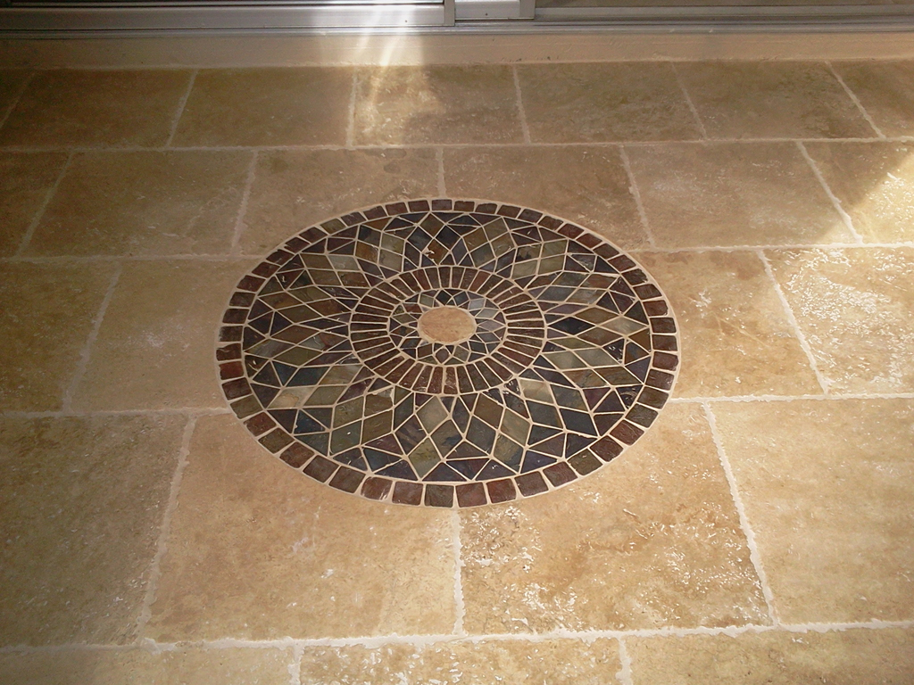 20 cool ideas and pictures travertine tile for bathroom floor. Black Bedroom Furniture Sets. Home Design Ideas