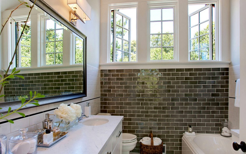 Subway Style Tile 30 pictures for bathrooms with subway tiles