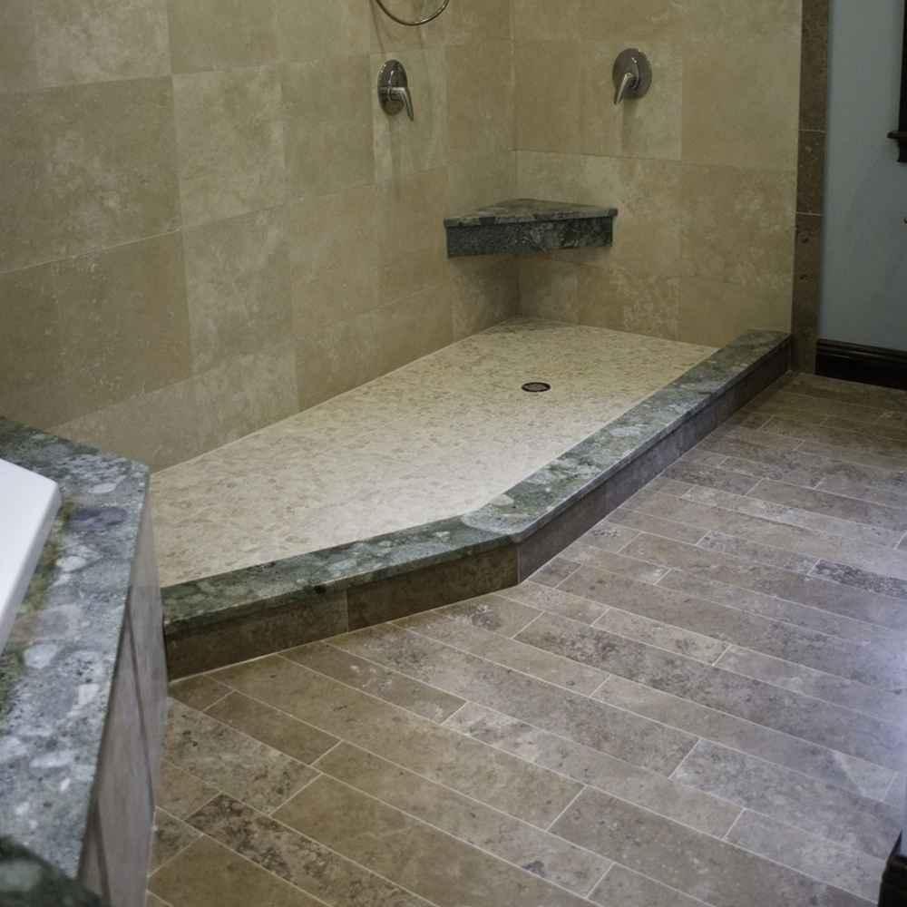 Ceramic Bathroom Floor - 2 3 4 6 7