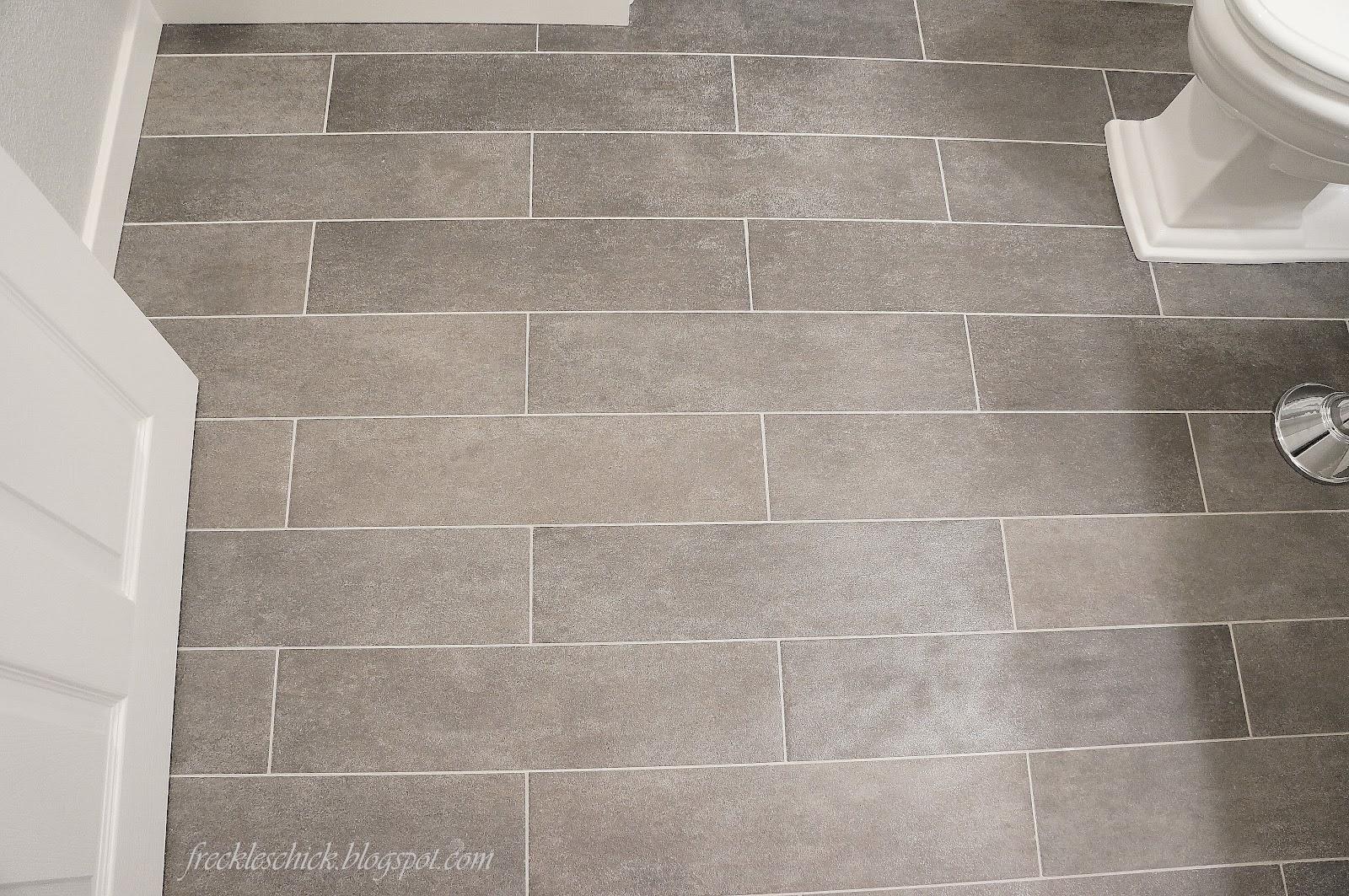 20 Modern Bathroom Ceramic Tile Floors Design Ideas