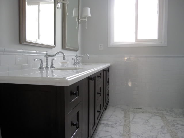 If You Are Interested In Subway Tile Chair Rail Bathrooms, Or Just Looking  For Ideas To Renovate Your Place, Please Look Through Our Small Gallery.