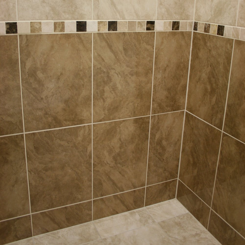 30 cool pictures of bathroom ceramic wall tile - How to install ceramic tile on wall ...