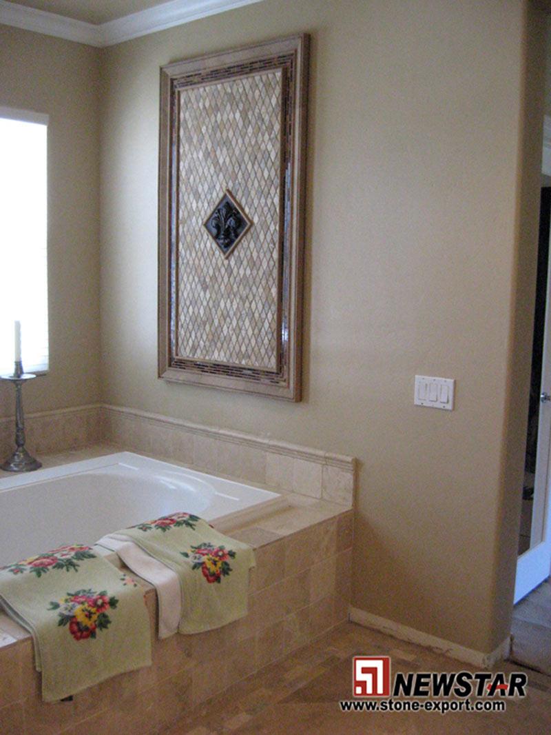 30 Amazing Ideas For Marble Tile For Bathroom Floors