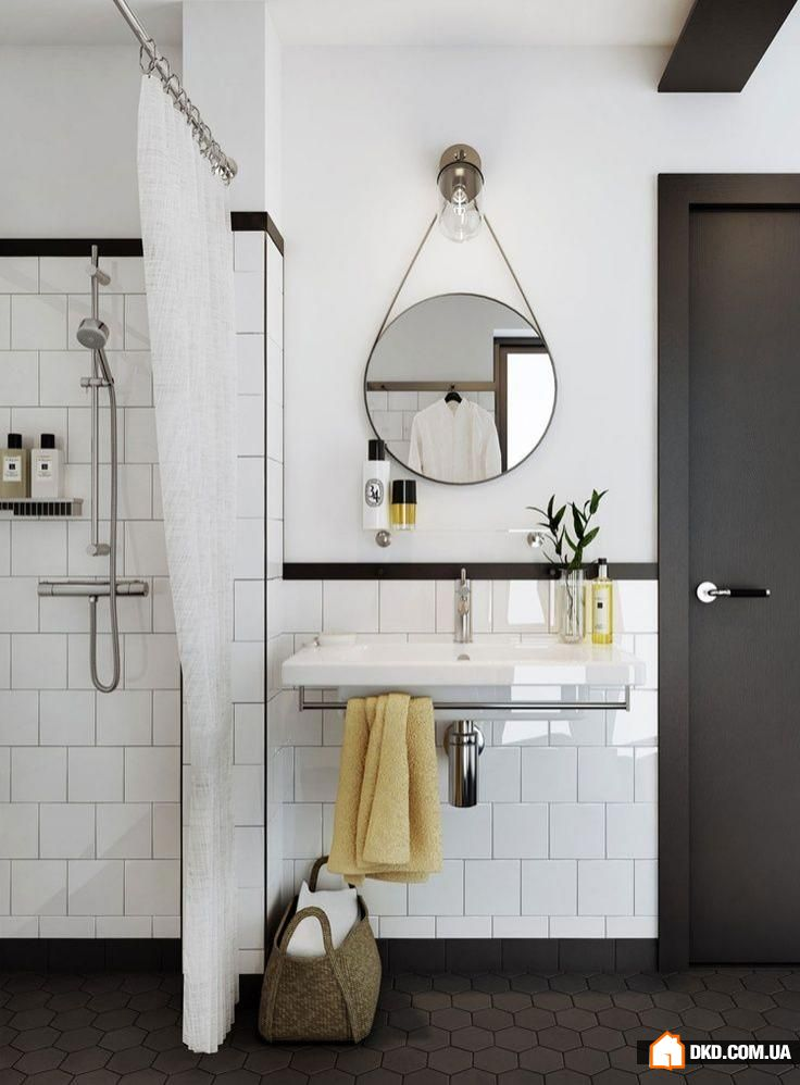 Large Subway Tile In A Shower