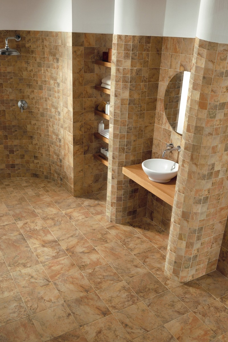 20 pictures about is travertine tile good for bathroom for Ceramic tile flooring designs kitchen