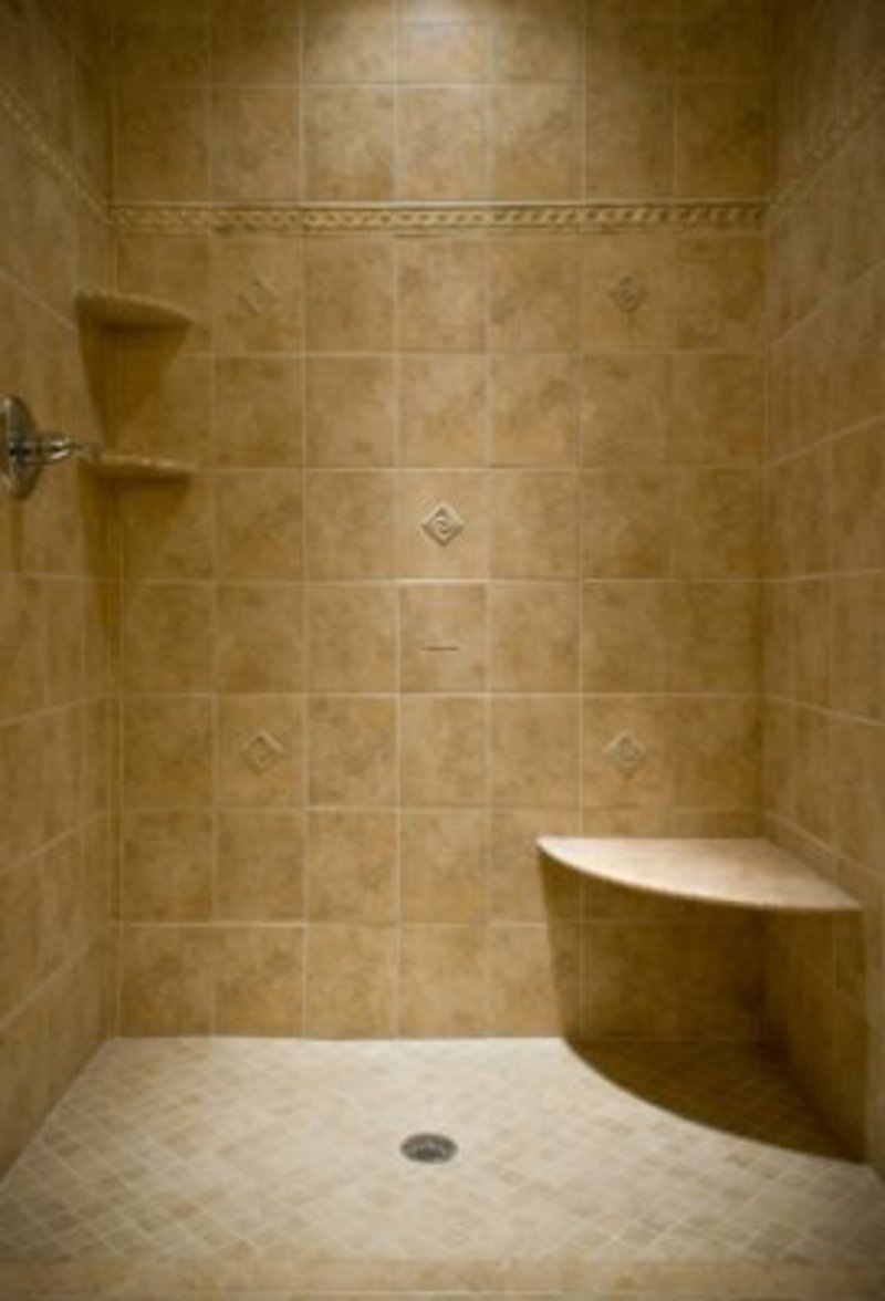 20 pictures and ideas of travertine tile designs for bathrooms for Bathroom porcelain tile designs