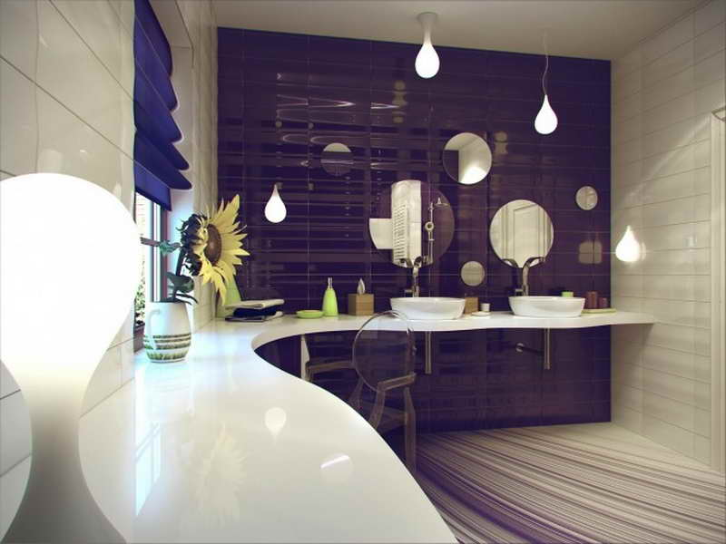 Awesome-Bathrooms-Designs-with-Unique-Hanglamp-Astonishing