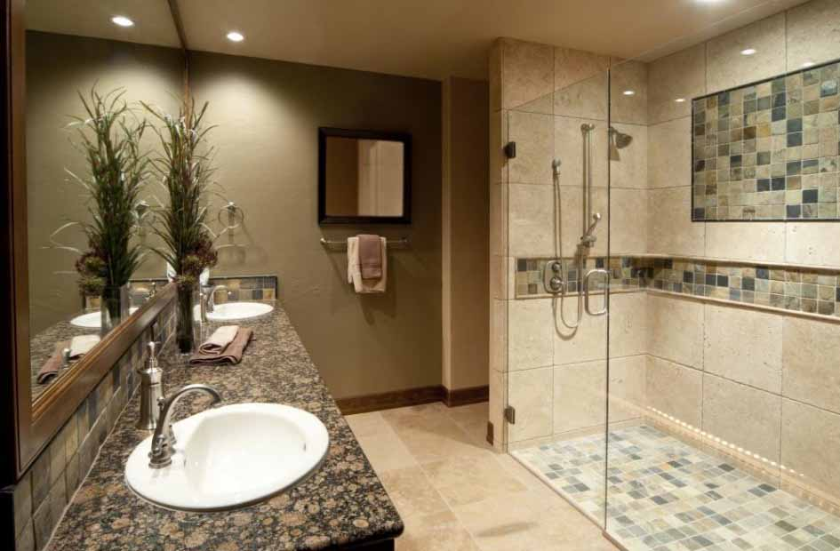 Bathroom-Remodeling-Trends-With-Tile-Decor-On-Wall-And-Indoor-Plants