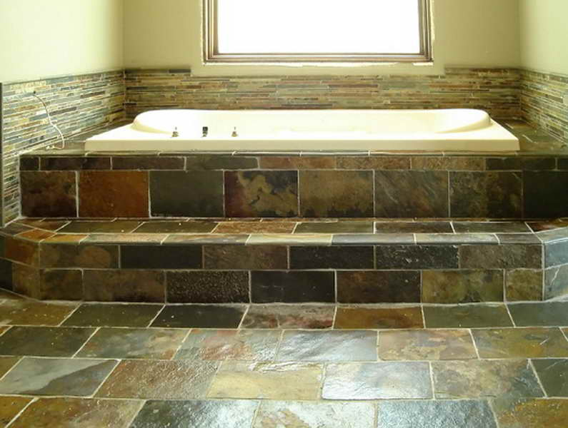 ... Choosing The Right Bathroom Tile Flooring Ideas For  ... Part 98