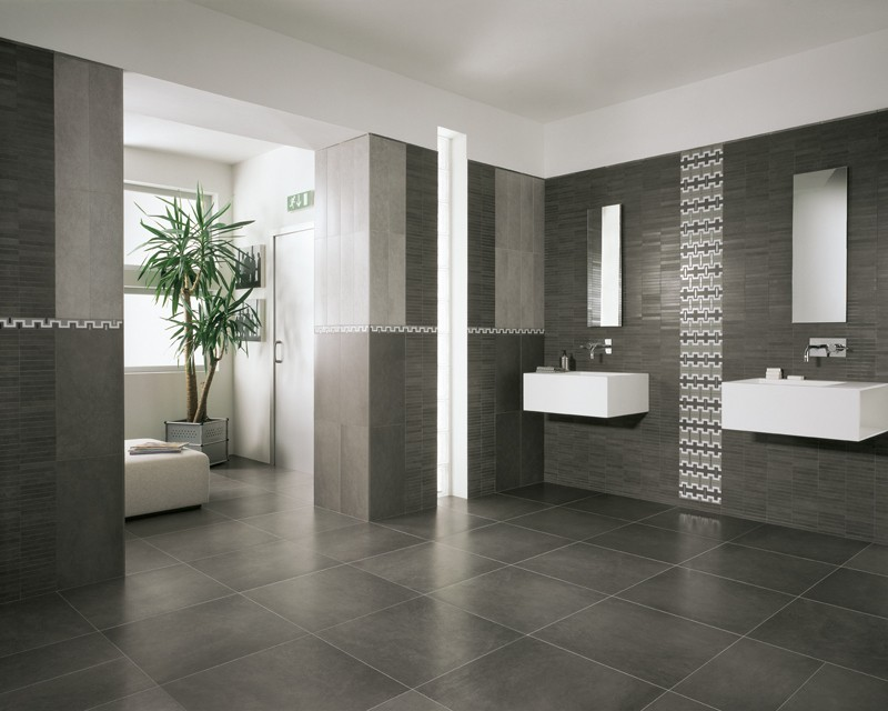 Italian Porcelain Tile By Design Grey. 30 ideas for using porcelain tile in bathroom