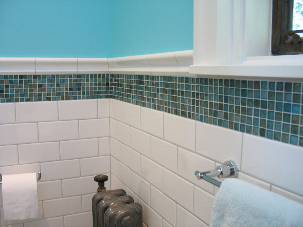 ... Meridian Street Bath Remodel Glass Mosaic Accent Tile ... Part 43