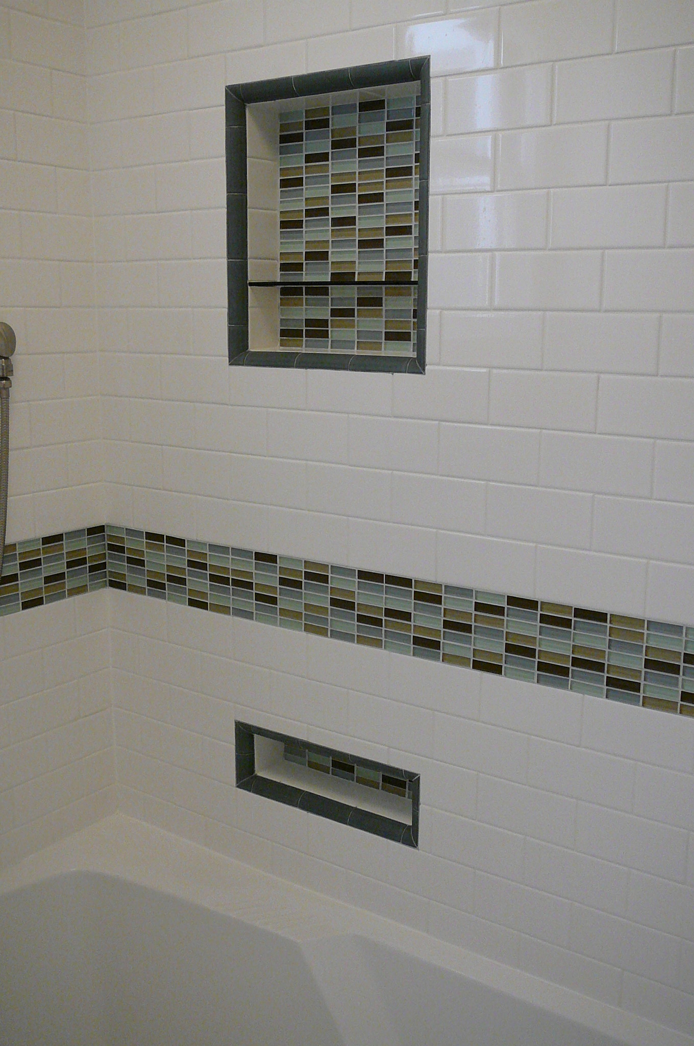 mosaic tiles bathroom ideas 30 great ideas of glass tiles for bathroom floors 19675