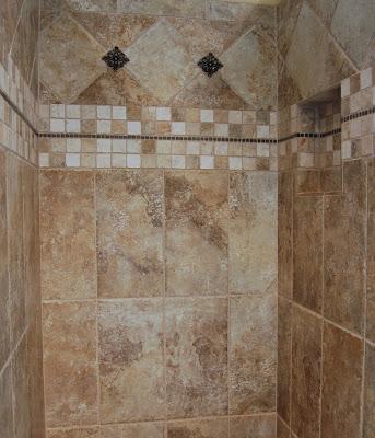 30 ideas for using porcelain tile in bathroom - Ceramic tile designs bathroom ...
