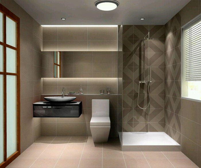 Bathroom Tiles Modern 30 ideas for modern bathroom with subway tile
