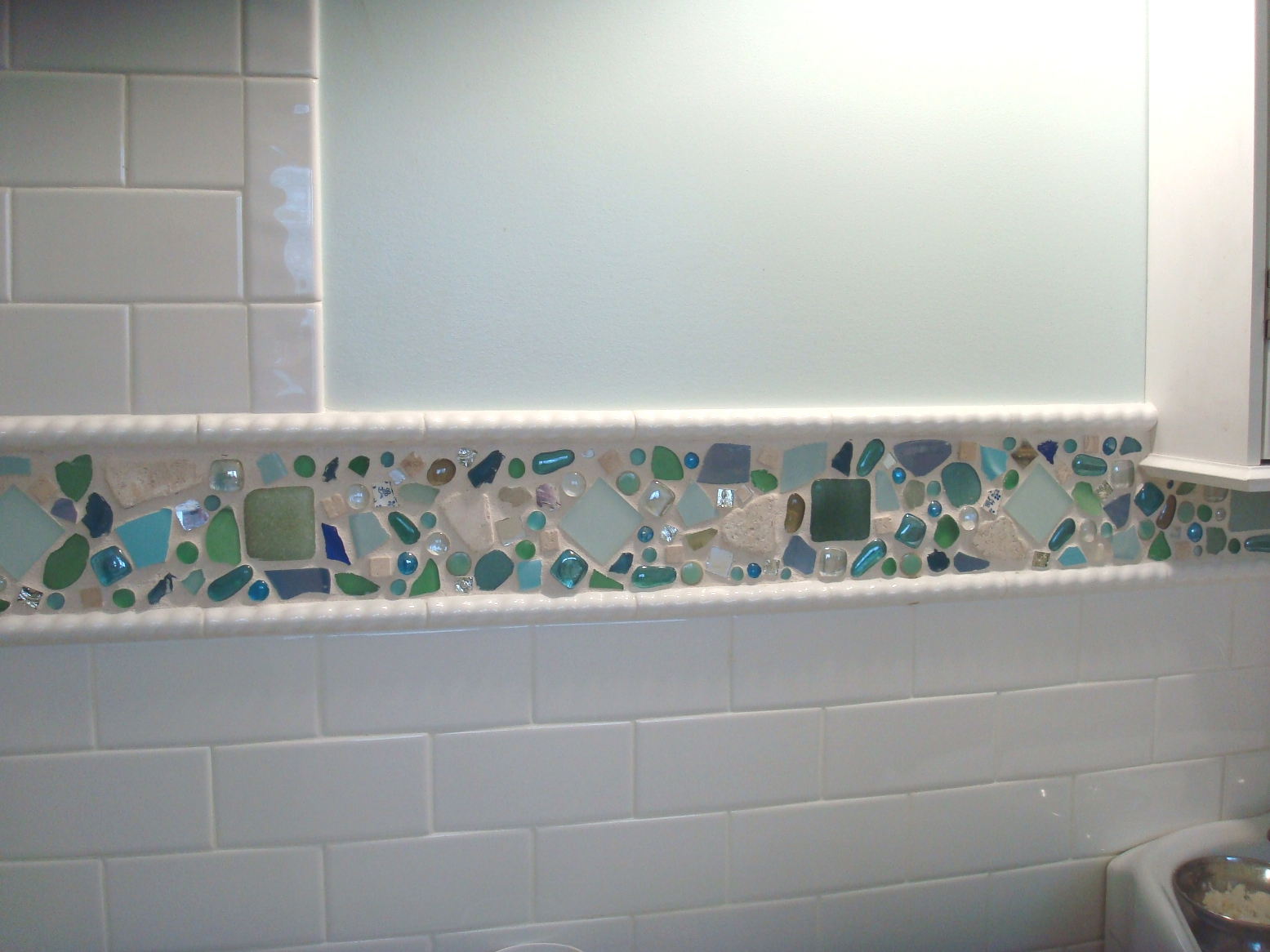 - 33 Great Ideas Of Glass Tile For Bath 2019