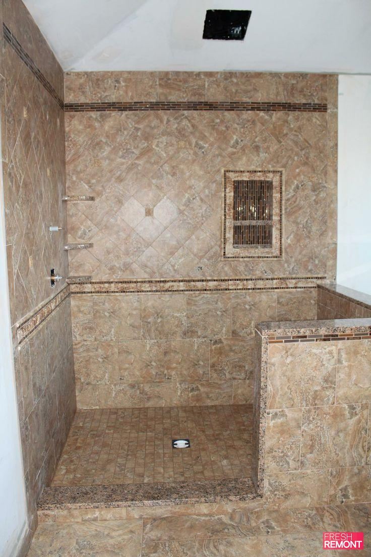 30 ideas for using porcelain tile in bathroom