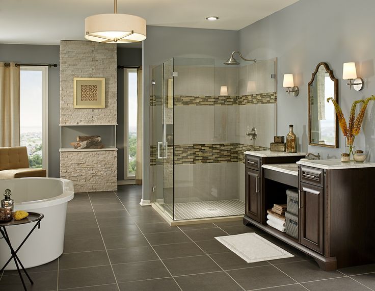 29 Ideas On Using Polished Porcelain Tile For Bathroom