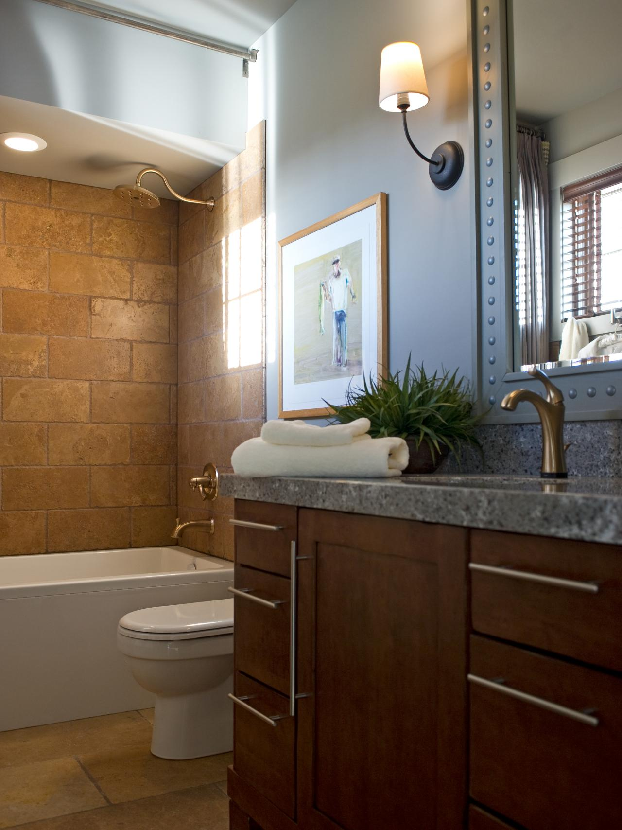 34 Stunning Pictures And Ideas Of Natural Stone Bathroom