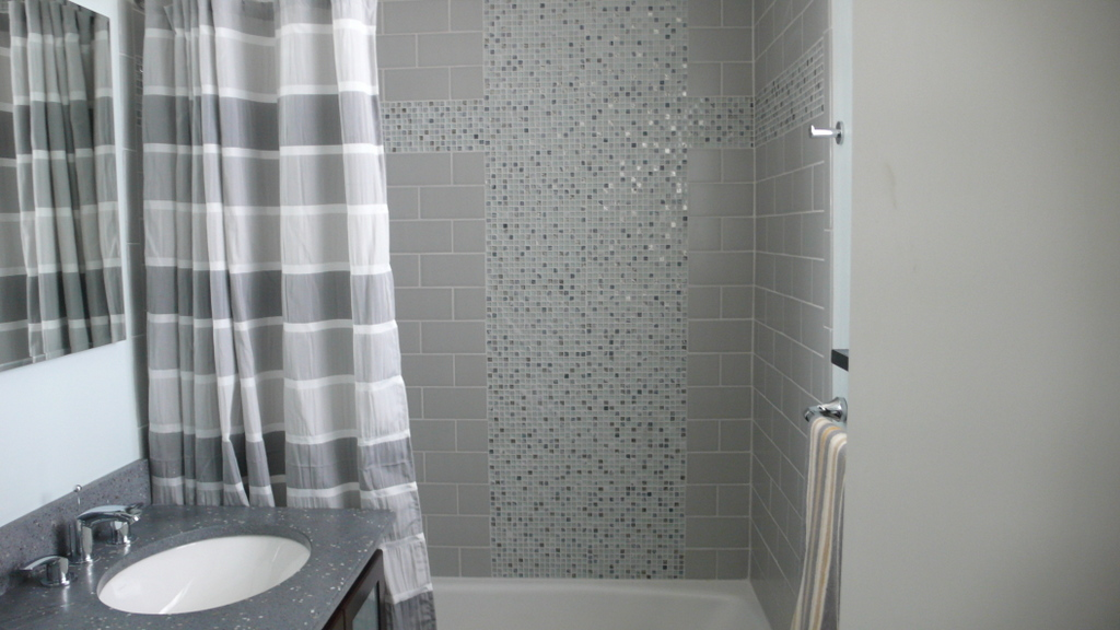 Mosaic Tile Accent Ideas: 30 Ideas Of Mosaic Tile Accents In A Bathroom