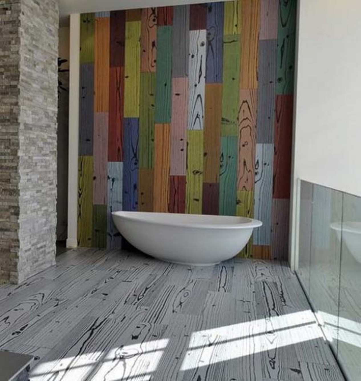27 Cool Ideas And Pictures Of A Bathroom Floor That Look