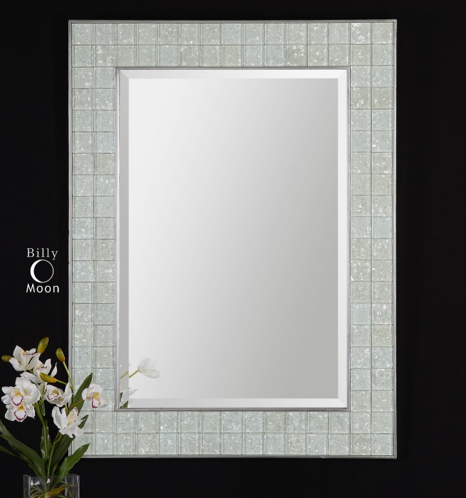 We can show you how to do it  Down here we have some pictures of mosaic  tile framed bathroom mirrors  You can look them through and see how this  special. 30 ideas of mosaic tile framed bathroom mirrors