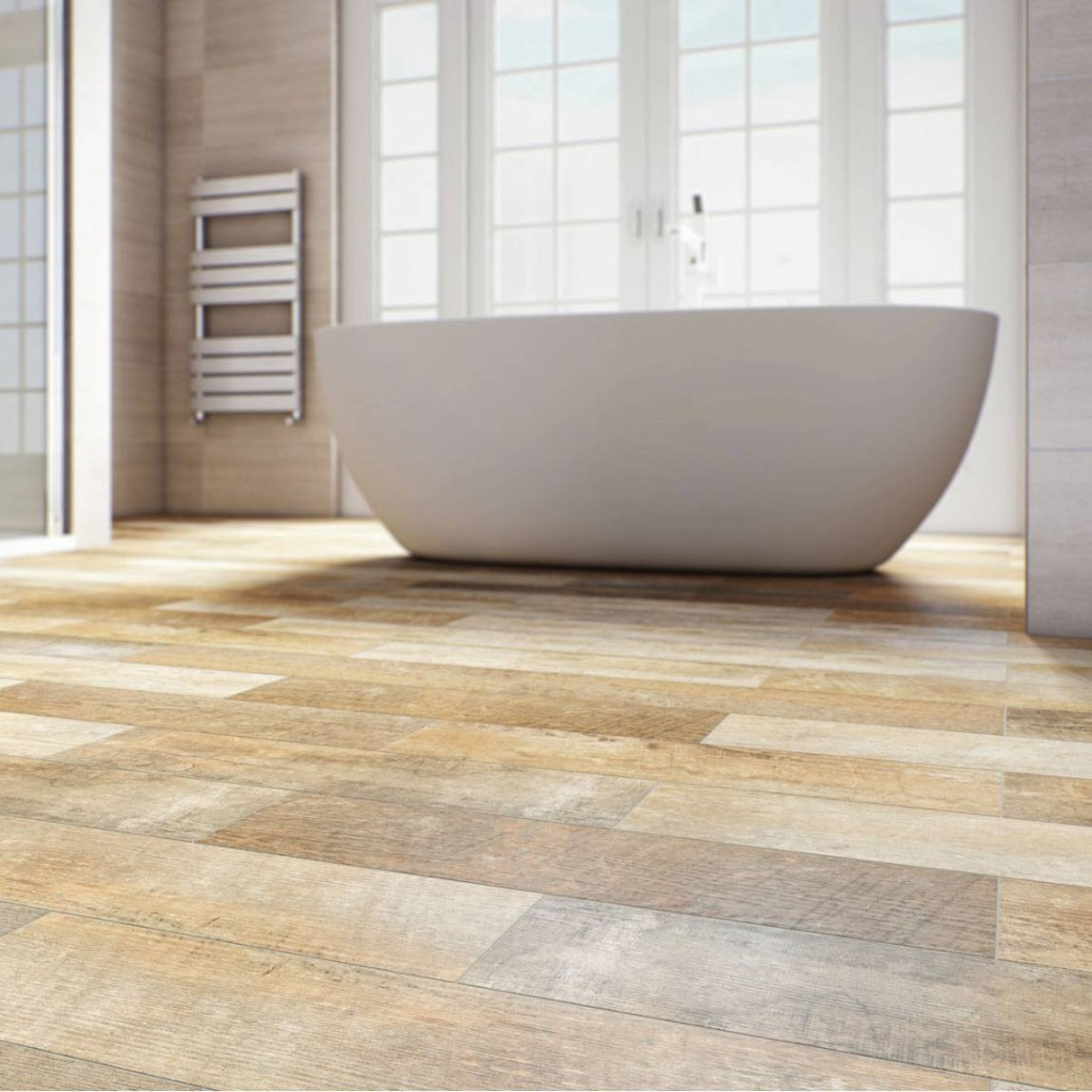 30 Amazing Pictures And Ideas Of Wood Plank Tile In